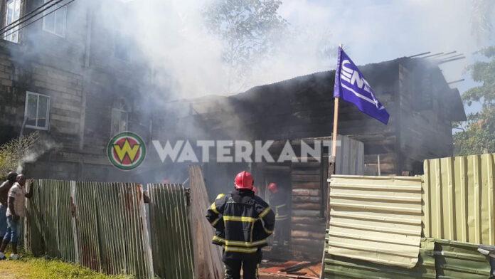 Man die brand stichtte aan de Drambrandersgracht aangehouden