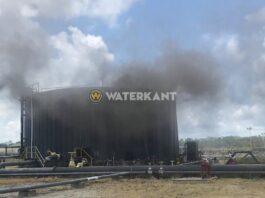 Incident bij opslagtank van Staatsolie in Suriname