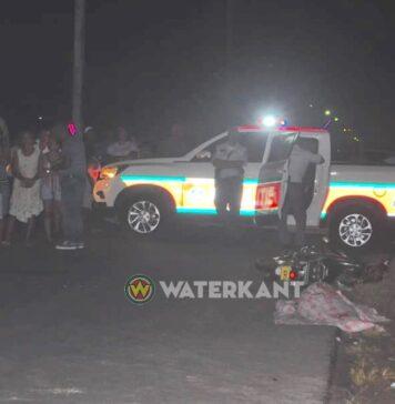 Fietser overleden na aanrijding met bromfietser te Paramaribo-Noord