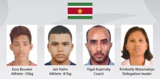 Surinaamse judoka's naar Kazakhstan voor World Judo Championships