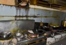 Sluiting en boete voor onhygiënisch restaurant in Suriname