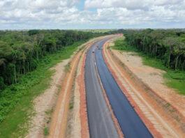 Asfaltering nieuwe 'Super Highway' in Suriname begonnen