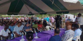 Bijkans 250 grondpapieren uitgereikt aan bewoners Saramacca