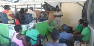 LVV verzorgt training aan ambtenaren en landbouwers Poesoegroenoe
