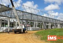 Oplevering International Mall of Suriname vertraagd door late oplevering staalconstructie