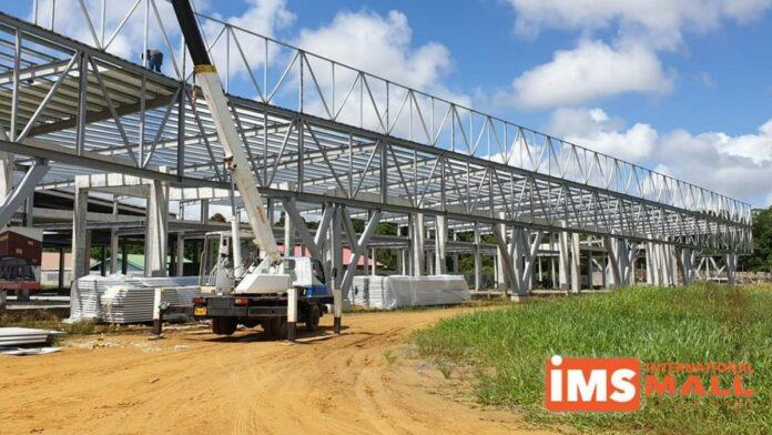 Oplevering International Mall of Suriname vertraagd door late oplevering staalconstructie