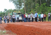 Start rehabilitatie Suralcoweg in Suriname