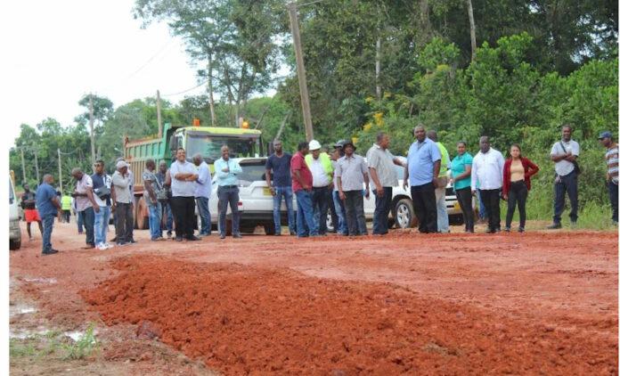 Start rehabilitatie Suralcoweg in Suriname
