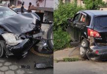 Automobilist verleent geen voorrang en veroorzaakt enorme schade