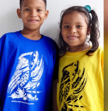 Nieuw shirt Stichting Dierenbescherming Suriname i.v.m. dierendag