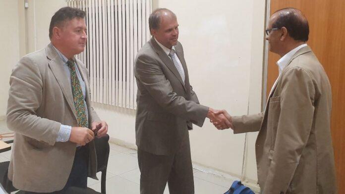 Europese delegatie voor audit export controlesysteem in Suriname