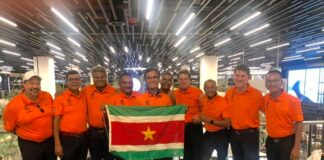Suriname voor het eerst op World Amateur Golfers Championship