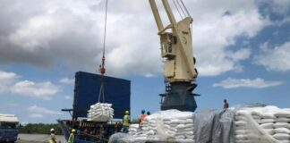 lading-rijst-suriname-naar-venezuela
