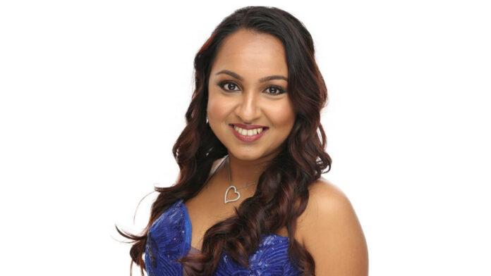 Nisha Madaran uit Suriname te gast op Divali viering in Den Haag