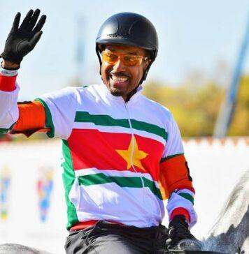 Suriname weer in finale internationale paardenrace in Boedapest