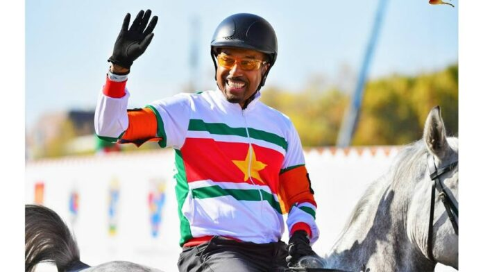 Suriname weer in finale internationale paardenrace in Boedapest