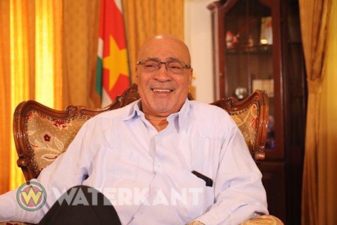 President Desi Bouterse van Suriname