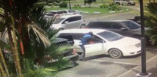 VIDEO: Brute roofoverval op automobilist in geparkeerde auto