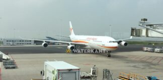 SLM vlucht vanuit Nederland naar Suriname 24 uur vertraagd