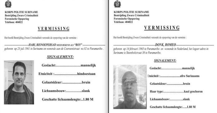 Politie publiceert officieel bericht van vermissing Hari en Donk