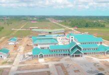VIDEO: Bouw Regionaal Streekziekenhuis Wanica vordert gestaag