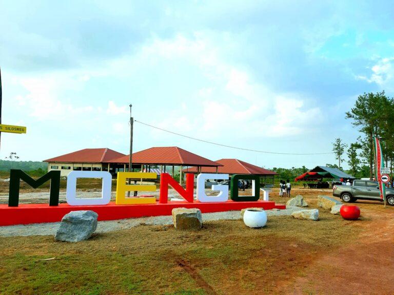 Zojuist nieuw Moengo monument onthuld