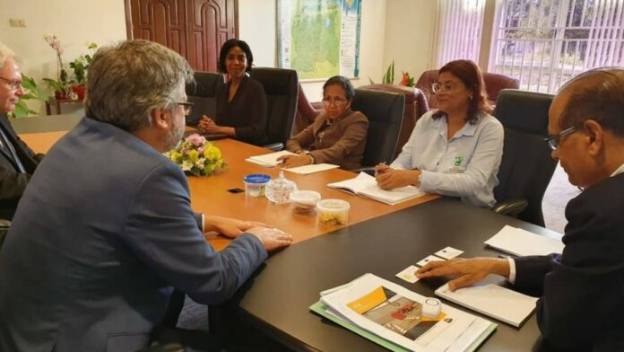 EU-Ambassadeur bespreekt versterking relatie Suriname