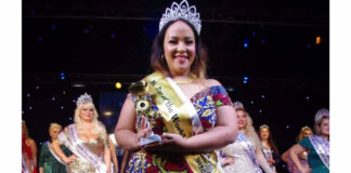 Evita Tjon A Ten bezorgt Suriname 'Miss Top of The World Plus size' titel