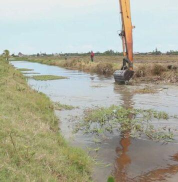 LVV biedt boeren ondersteuning bij opschonen kanalen in Nickerie