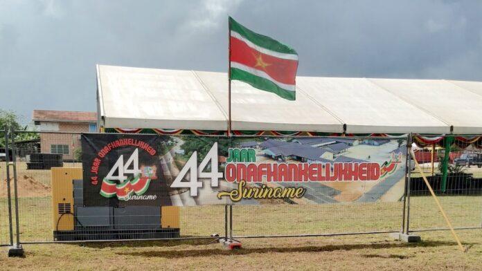 Suriname vandaag 44 jaar onafhankelijk