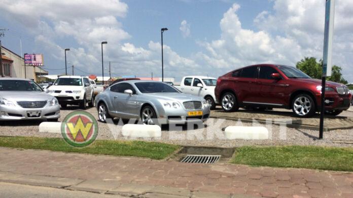 Suriname krijgt kentekenplaat voor autohandelaren