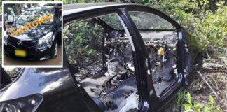 Automobilist vindt gestolen auto compleet gestript terug
