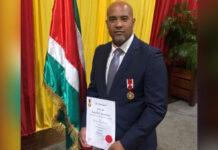 Presidentiële onderscheiding voor Dean Gorré