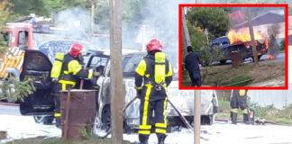 In brand gevlogen pick-up is nieuwe dienstauto van politie Suriname