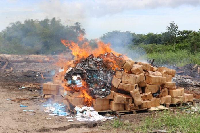Vernietiging authentieke stukken verkiezingen 2015 in Suriname