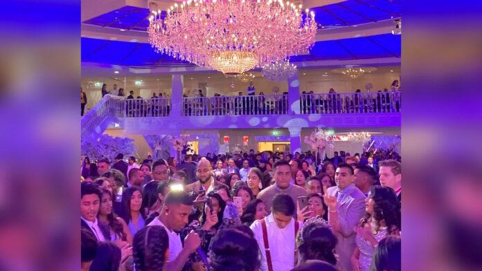 Hindoestaanse bruiloft in Rotterdam groots gevierd