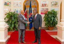 Delegatie Suriname maakt tussenstop in Nairobi onderweg naar China