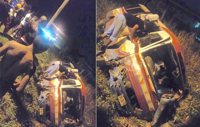 VIDEO: Opnieuw ongeluk met lijnbus in Suriname