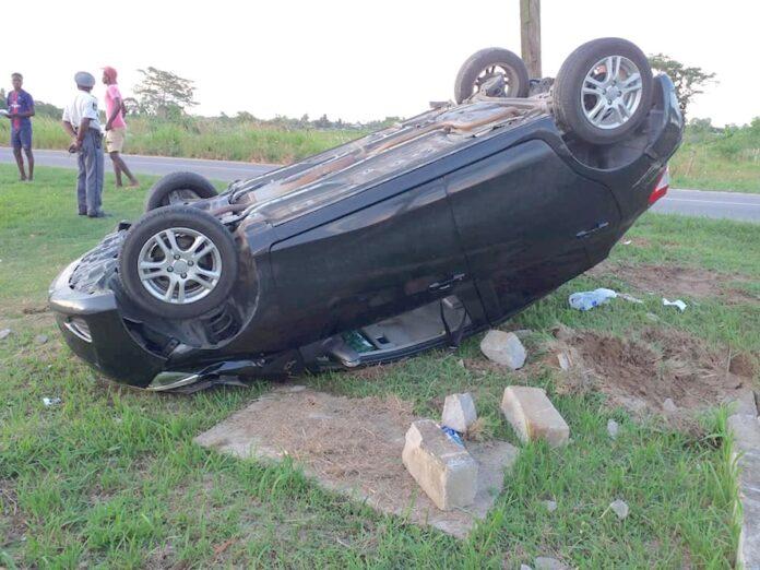 Gemiddeld 17 auto's per maand over de kop in Suriname