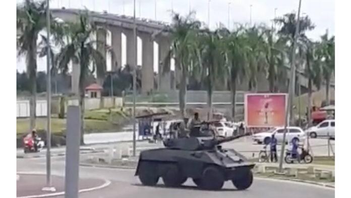 Bestuurder pantserwagen heeft door snel en kordaat optreden erger kunnen voorkomen