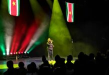 Srefidensi ComedyShow met afterparty