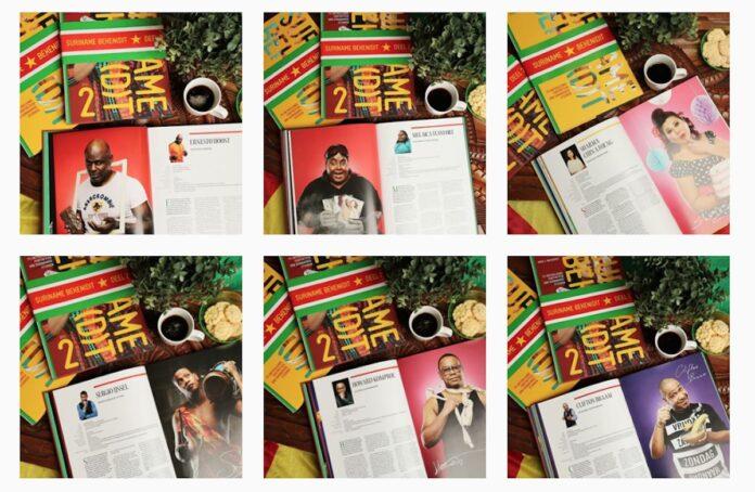 Bekende Surinamers 'breken' het internet met post over Srefidensi