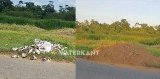 Bewoners nemen maatregelen tegen gedumpte stinkende viskoppen