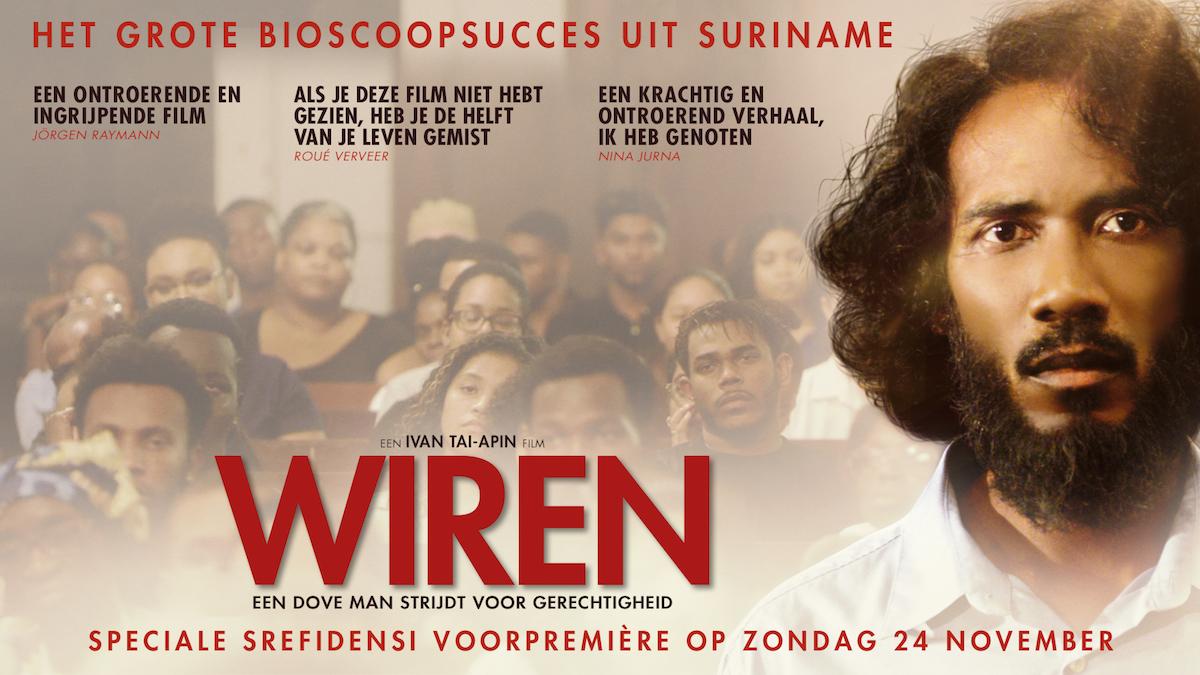 Speciale Srefidensi voorpremière van bioscoophit WIREN op zondag 24 november