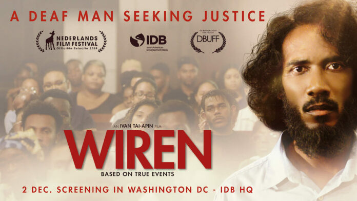 Screening van Surinaamse speelfilm WIREN in Amerikaanse stad Washington DC
