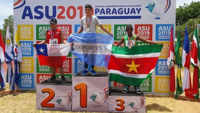 Eerste medaille binnen voor Suriname op Consude Games