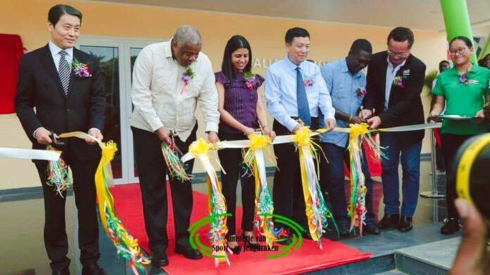 Suriname denksport centrum officieel in gebruik genomen