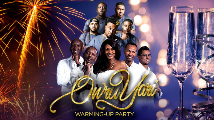 Owru Yari Warming-Up Party zaterdag 28 december