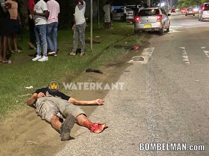 Bromfietser ernstig gewond na aanrijding door auto