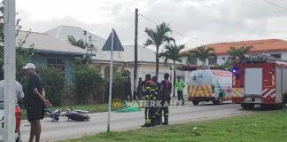 Bromfietser overleden na aanrijding met autobus